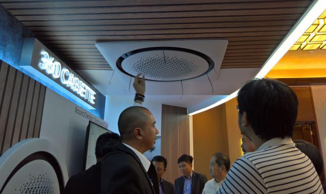 SAMSUNG SAC2016-360 cassette ceiling