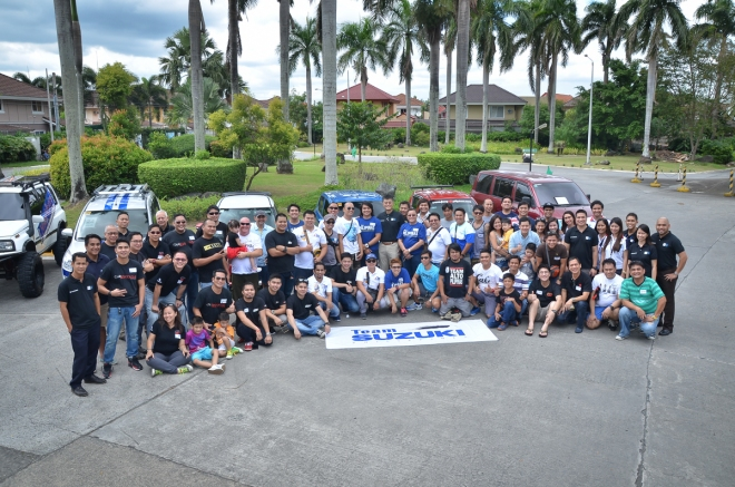 Team Suzuki Ph Group Photo