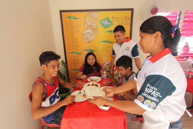 Food service livelihood program brings Poro fishers added income, marine protected area closer to reali