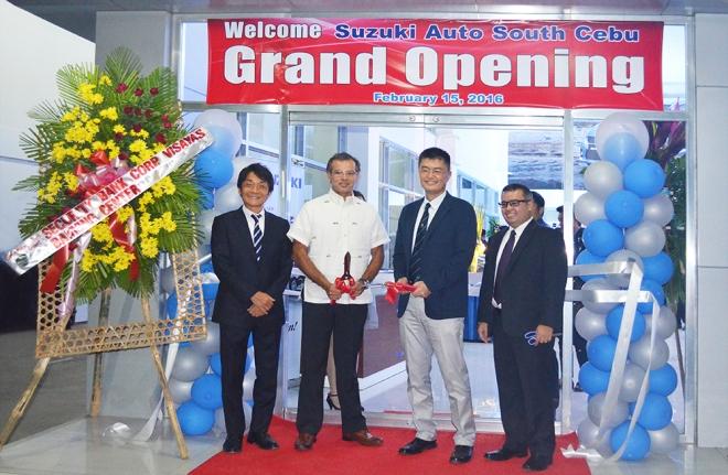 Suzuki breezes into Cebu with two dealership Openings ...