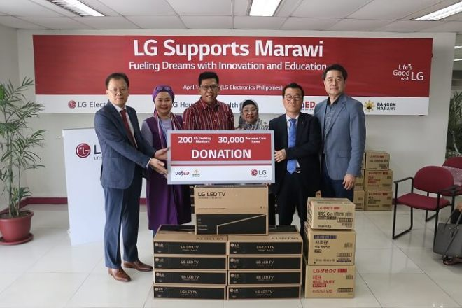 LG SUPPORTS MARAWI