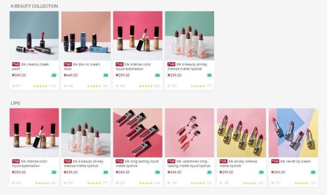 blk cosmetics - unasalahat