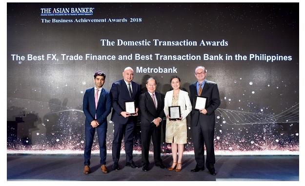 Metrobank bags Best Transaction Bank Award