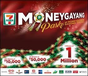 7-eleven moneygayang pasko at moneygong bagong taon promo
