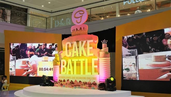 Goldilocks cake battle