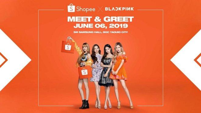 Shopee X BLACKPINK Meet and Greet