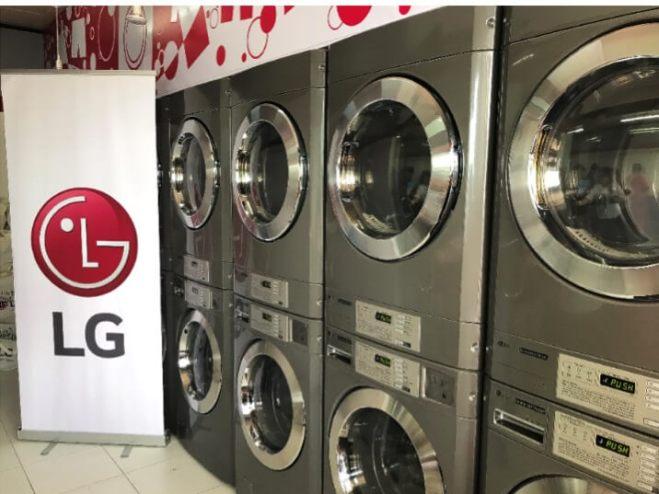LG Philippines donated washing machine
