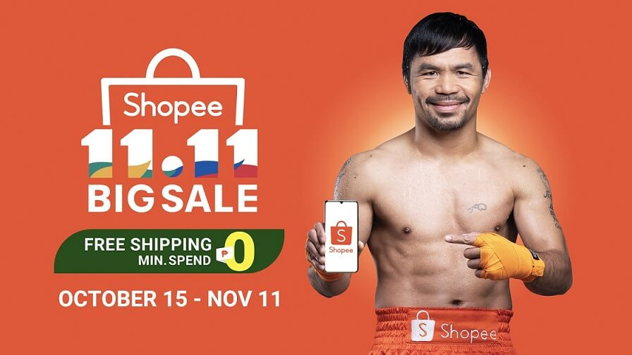 Shopee Launches Manny Pacquiao