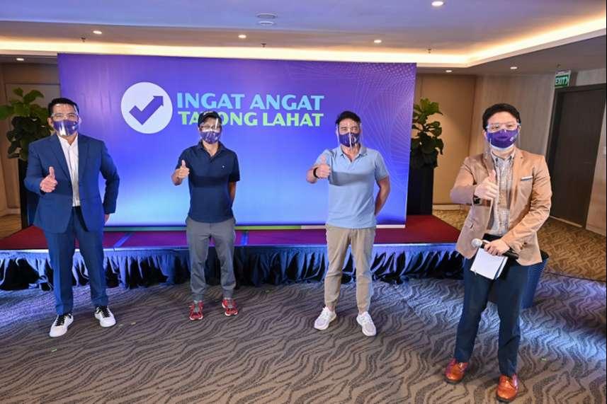 Ingat Angat Tayong Lahat campaign