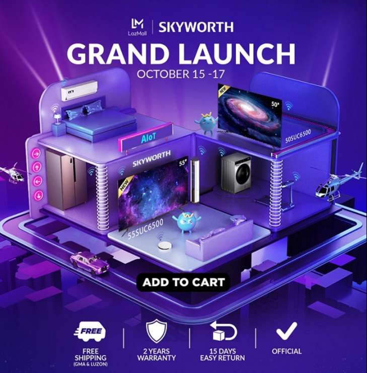 Skyworth launches official store on LAZADA